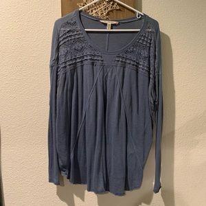 Long sleeve Flowy Shirt
